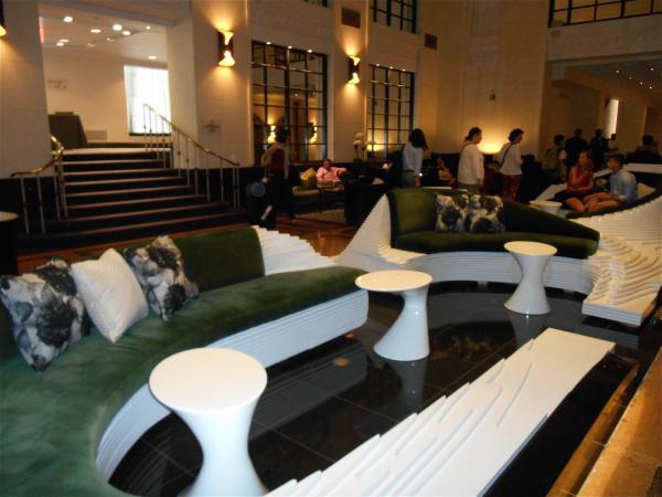 The Stewart lobby