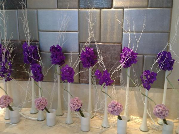 Quin lobby flowers