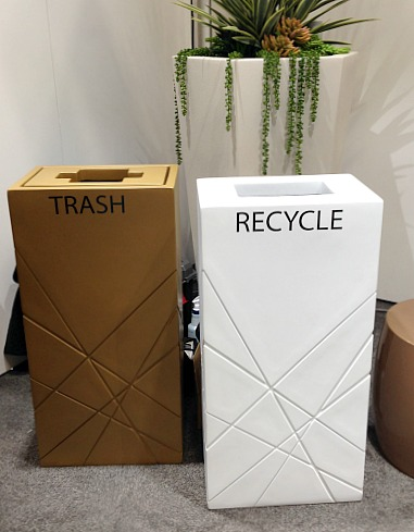 A new design for recycling bins